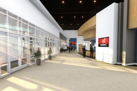 3-Interior - Lobby View